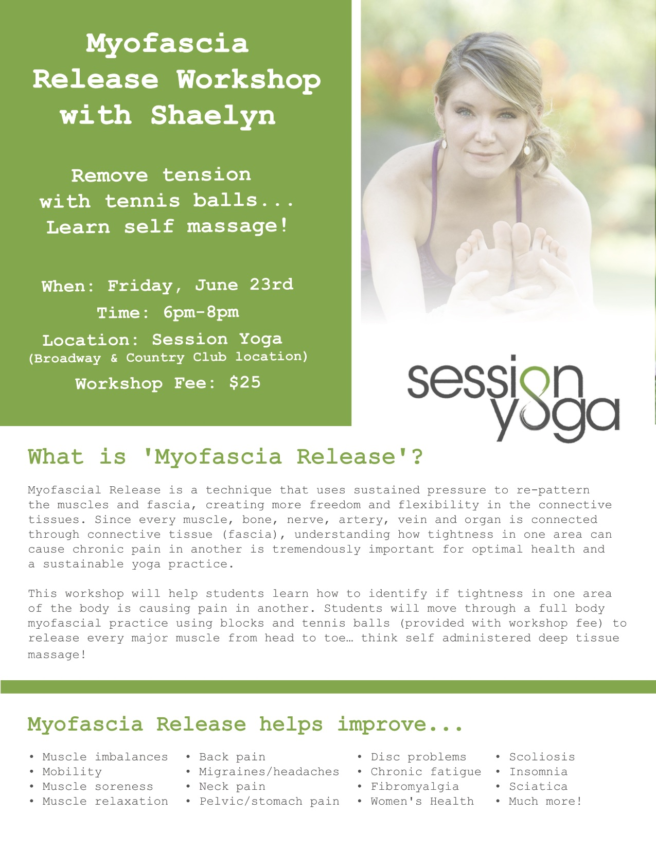 Shaelyn Myofascia Release Workshop copy